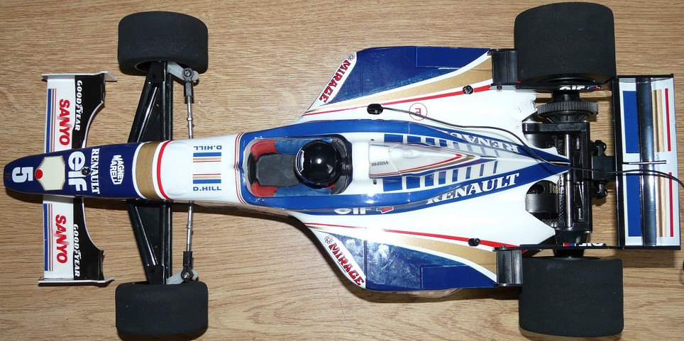 Tamiya 58179 Williams FW18 complete